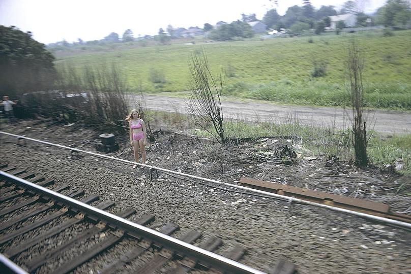 Paul Fusco. do livro de fotografias  Funeral Train