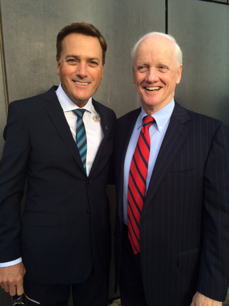 Michael W. Smith with Former Oklahoma Governor Frank Keating