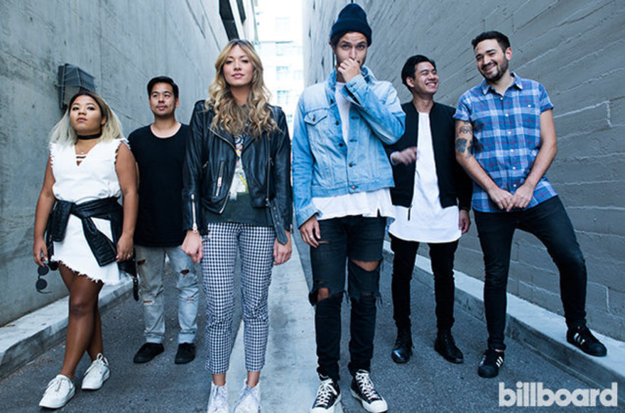 Hillsong Young & Free photographed in 2016 for Billboard, credit Jordan McSwain.