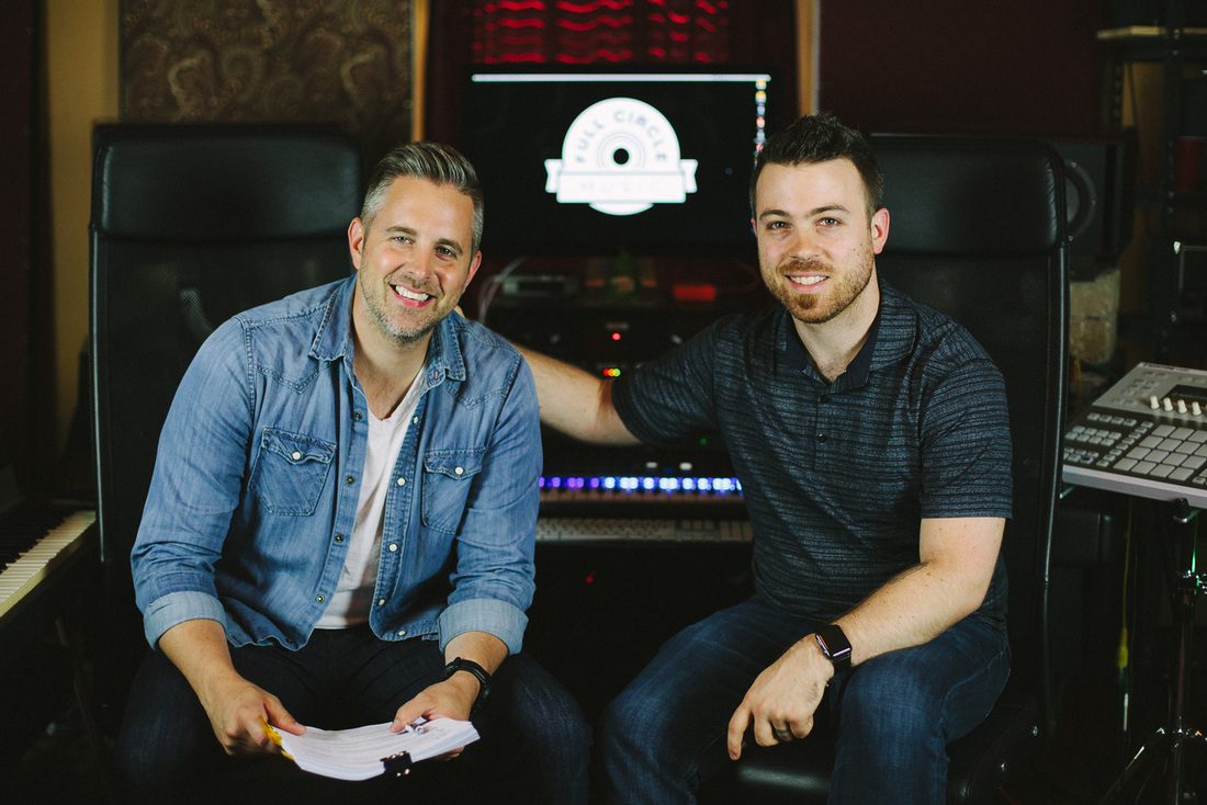 Matt Hammitt signes Songs for FCM publishing deal with Full Circle Music's Seth Mosley