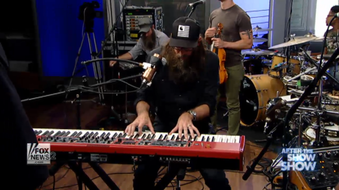 "Watch Crowder's ""Back To The Garden"" Performance  HERE !"