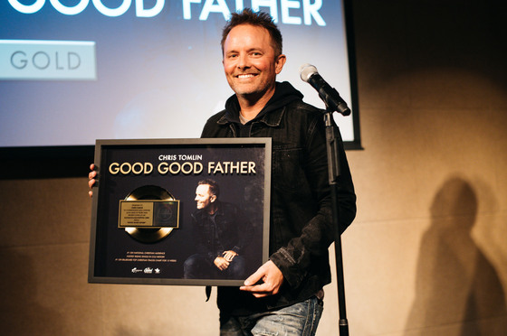 """Good Good Father"" is RIAA Certified Gold"