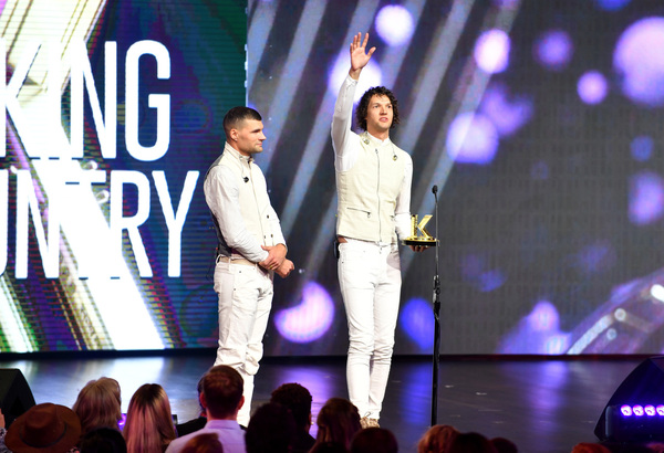 for KING & COUNTRY, Credit: Jason Davis/Getty Images for K-LOVE.