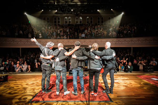 MercyMe's sold-out show at The Ryman Auditorium, Mar. 4, 2018. Credit: Brody Harper