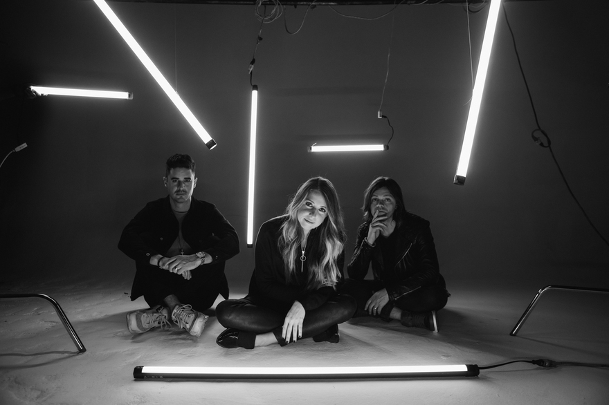 From L to R: Kristian Stanfill, Melodie Malone, Brett Younker