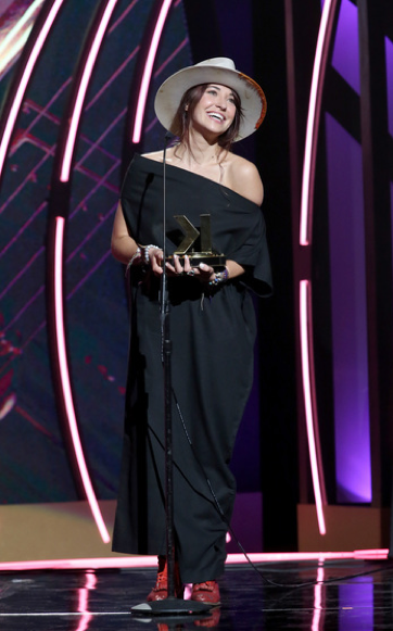 Lauren Daigle. Credit -Getty Images for K-LOVE Fan Awards