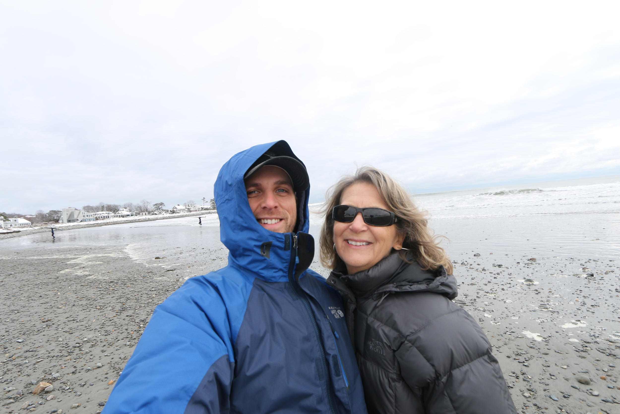 mom and me.  jenness beach [rye, nh]