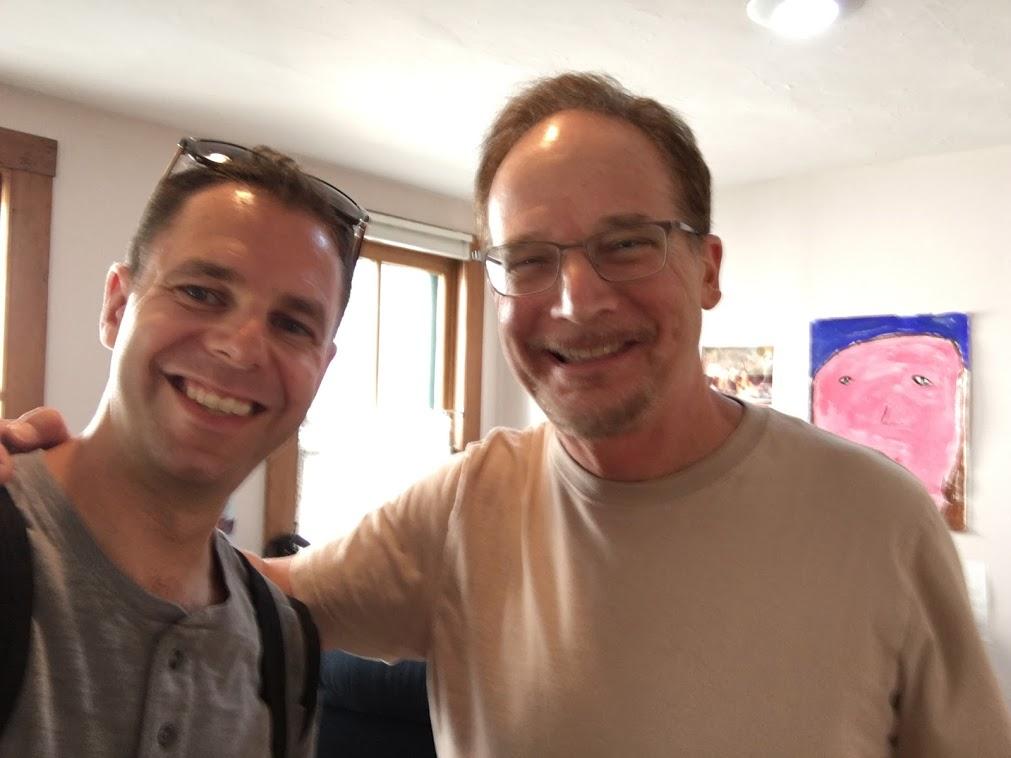 Leo and Michael Feldman in Madison, August 2016