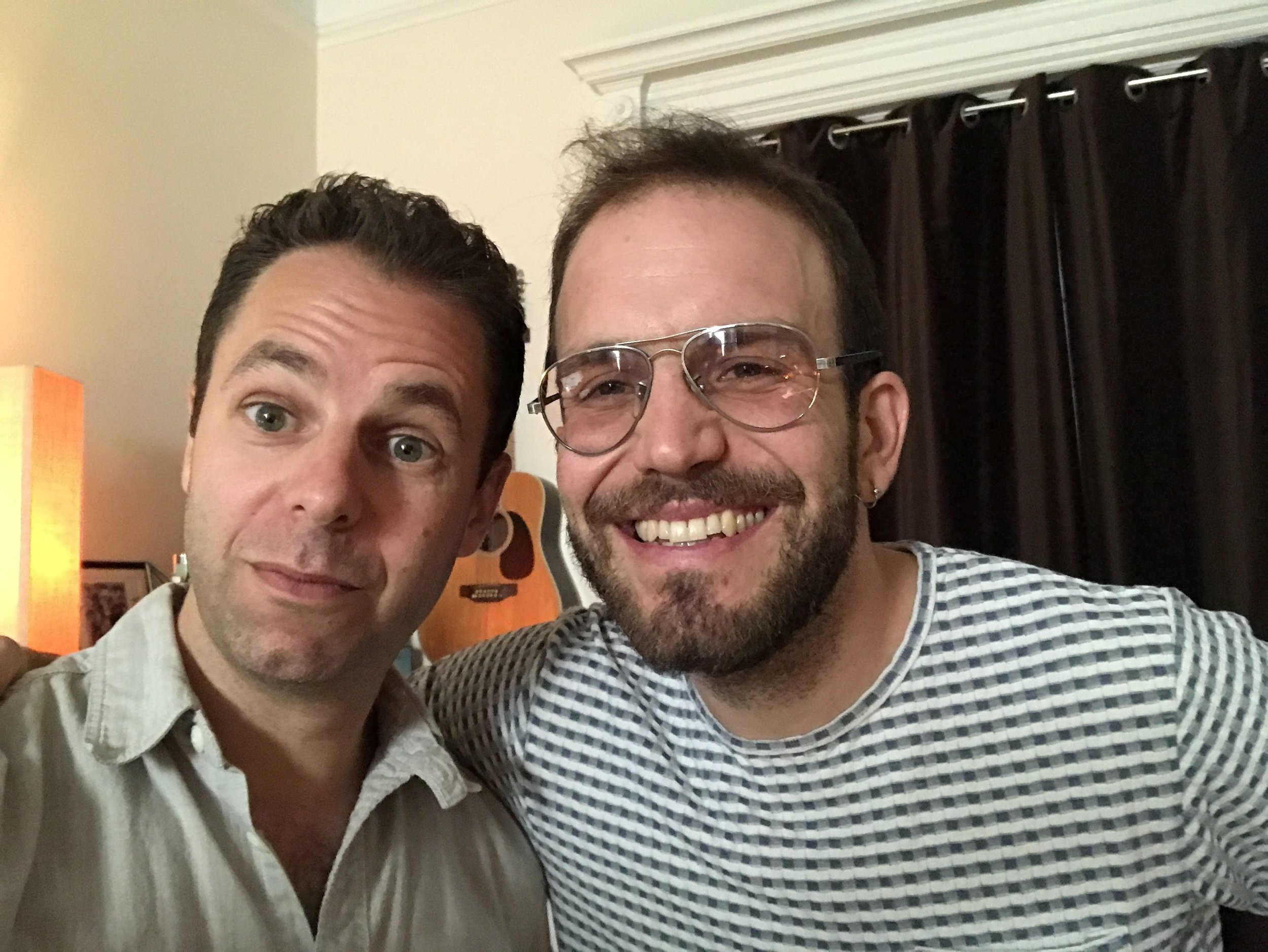 With Theo Katzman at Third Story headquarters in Brooklyn, October 207