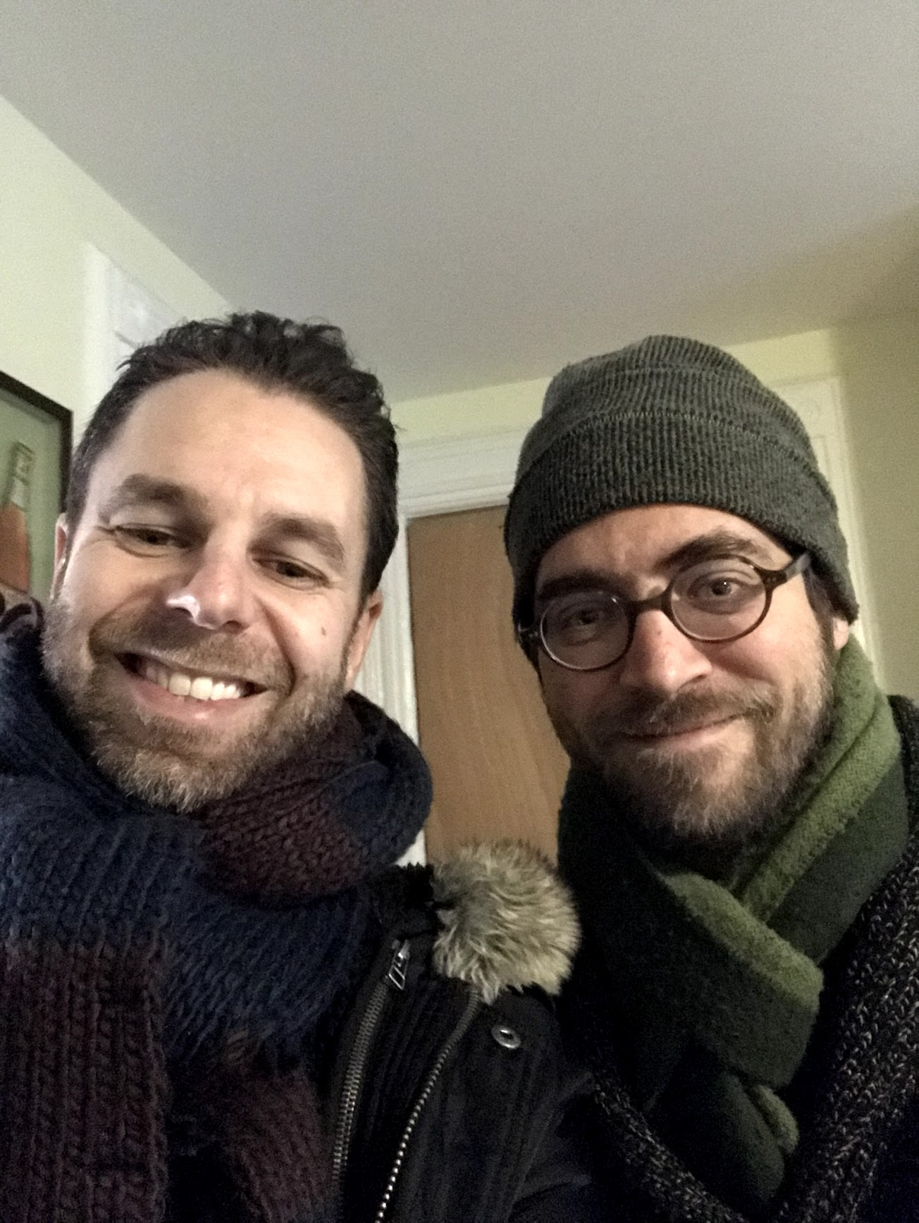 With Aaron Parks, Brooklyn, January 2019