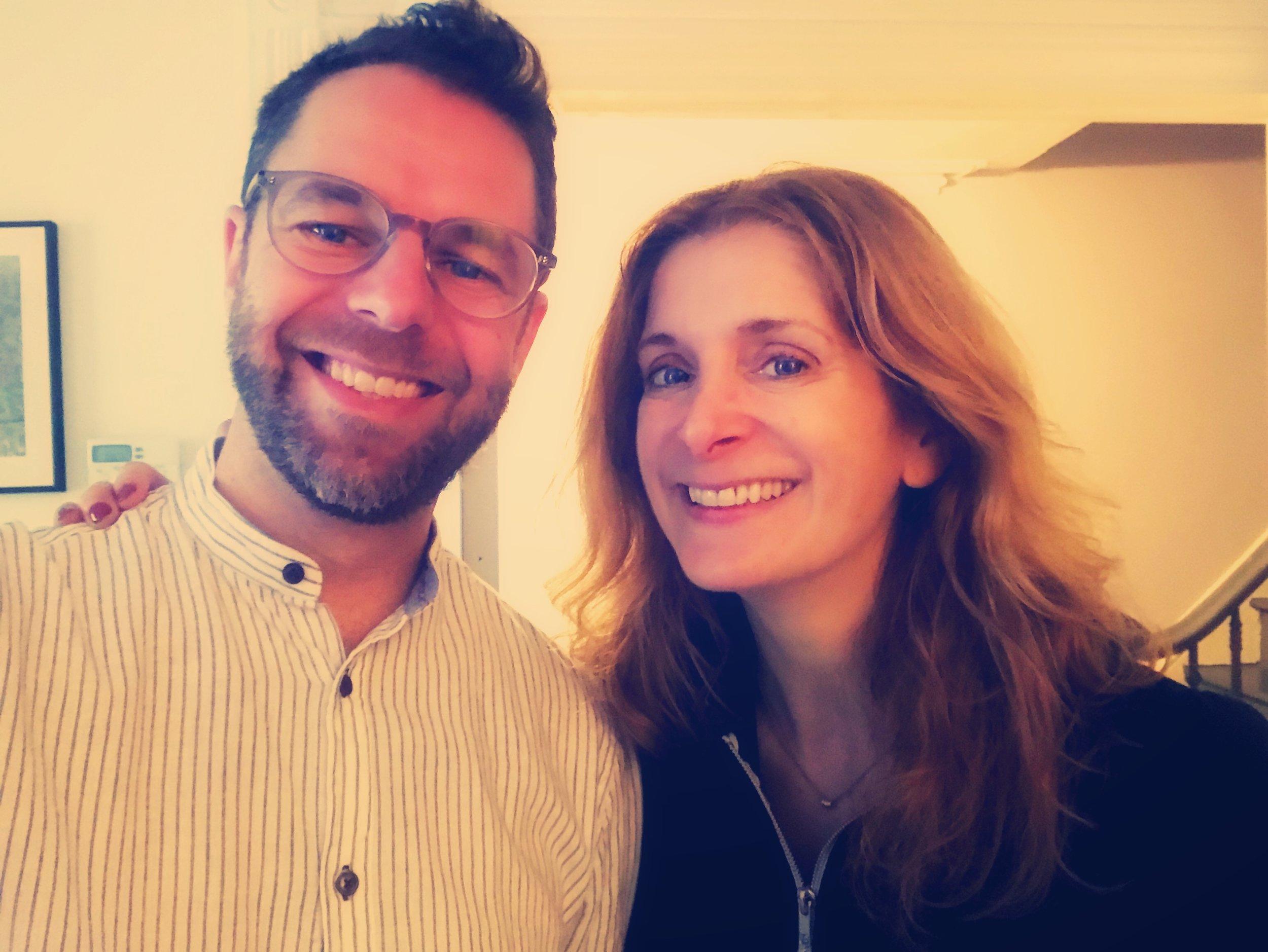 With Melissa Clark, Brooklyn NY, May 2019