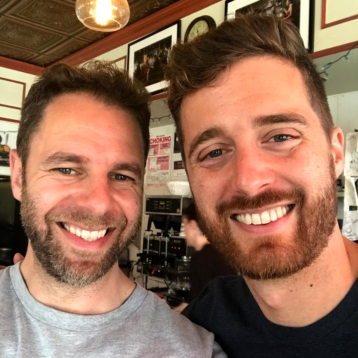 With Ben Thornewill, Brooklyn, June 2019