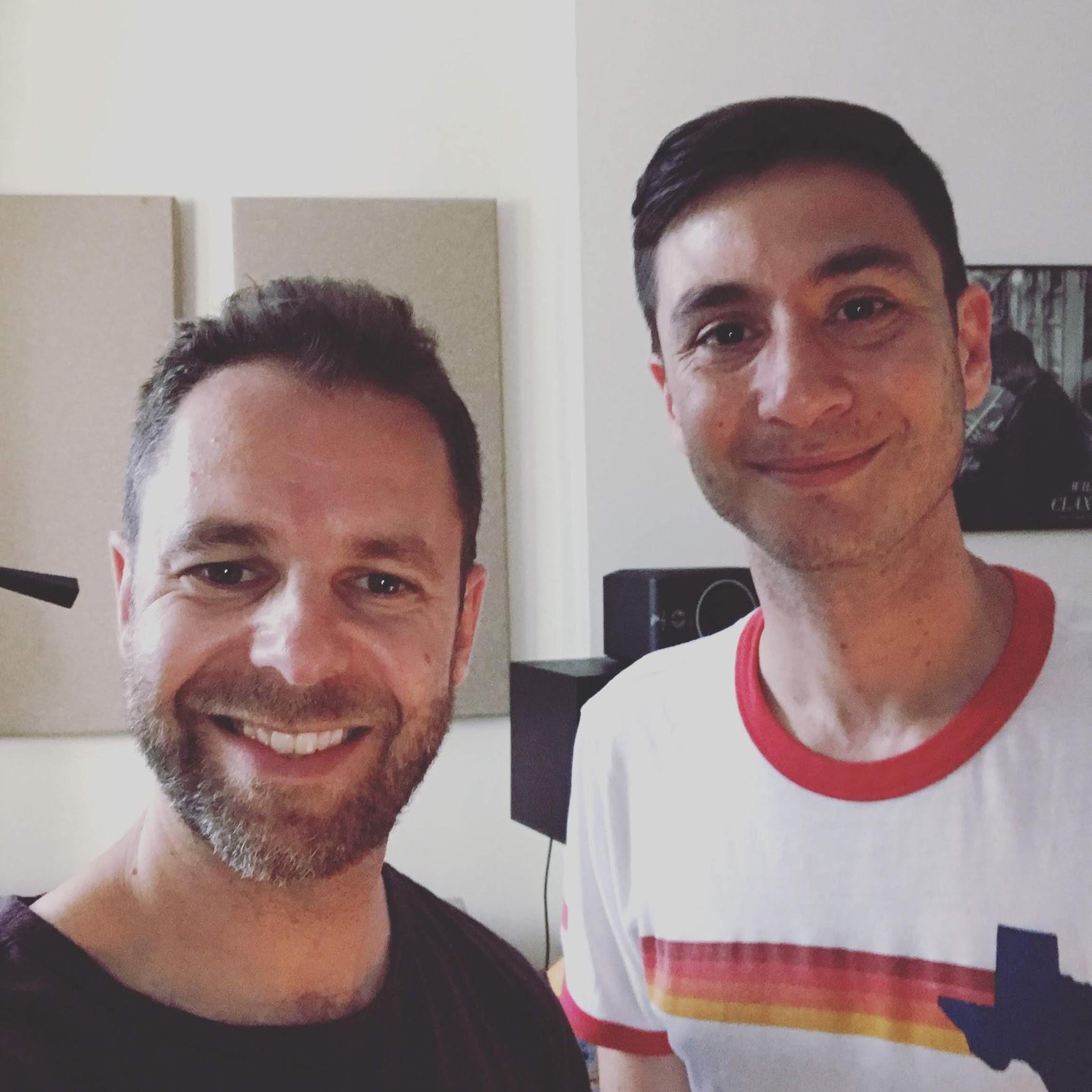 With Joey Dosik, Brooklyn, June 2019