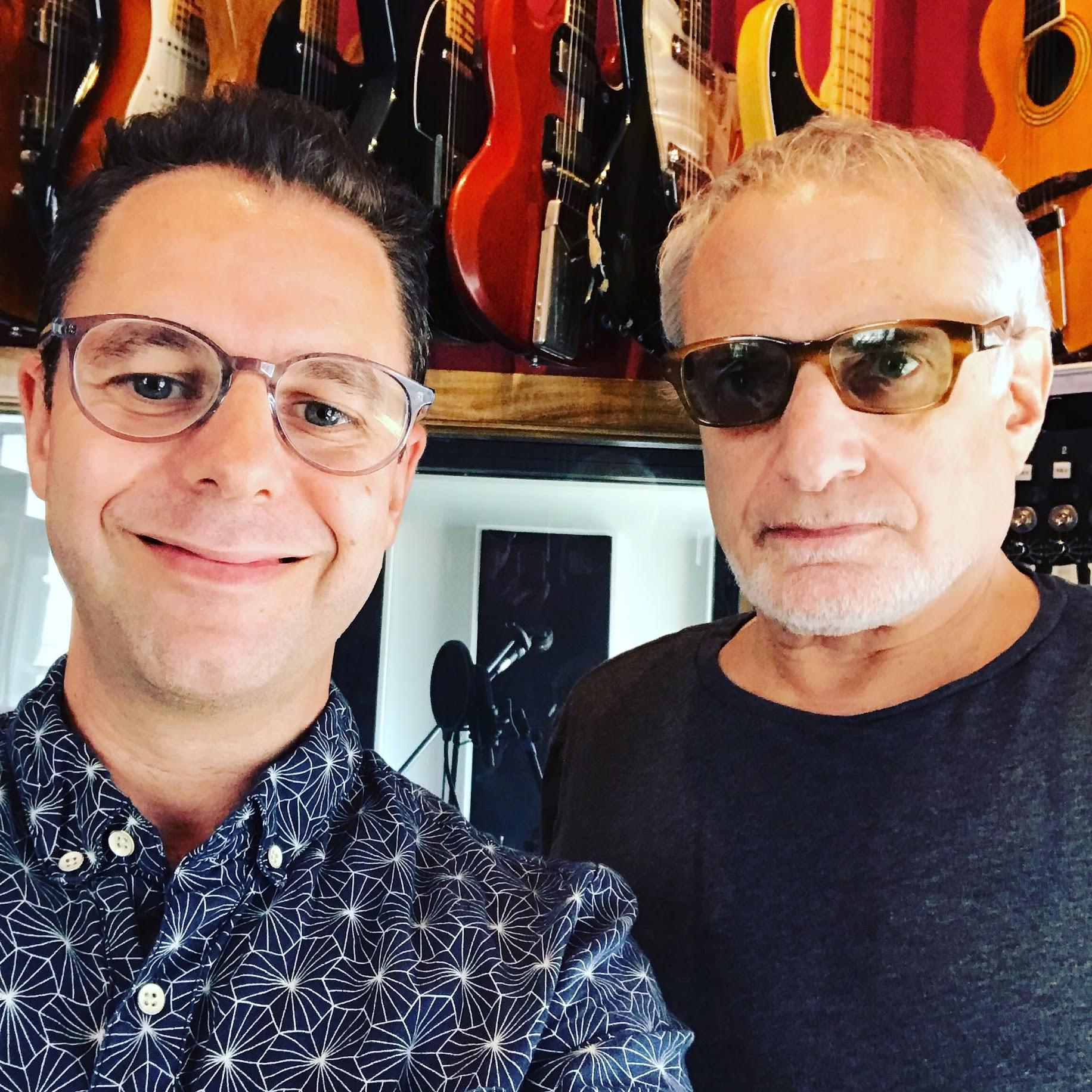 With Donald Fagen, Manhattan, July 2019