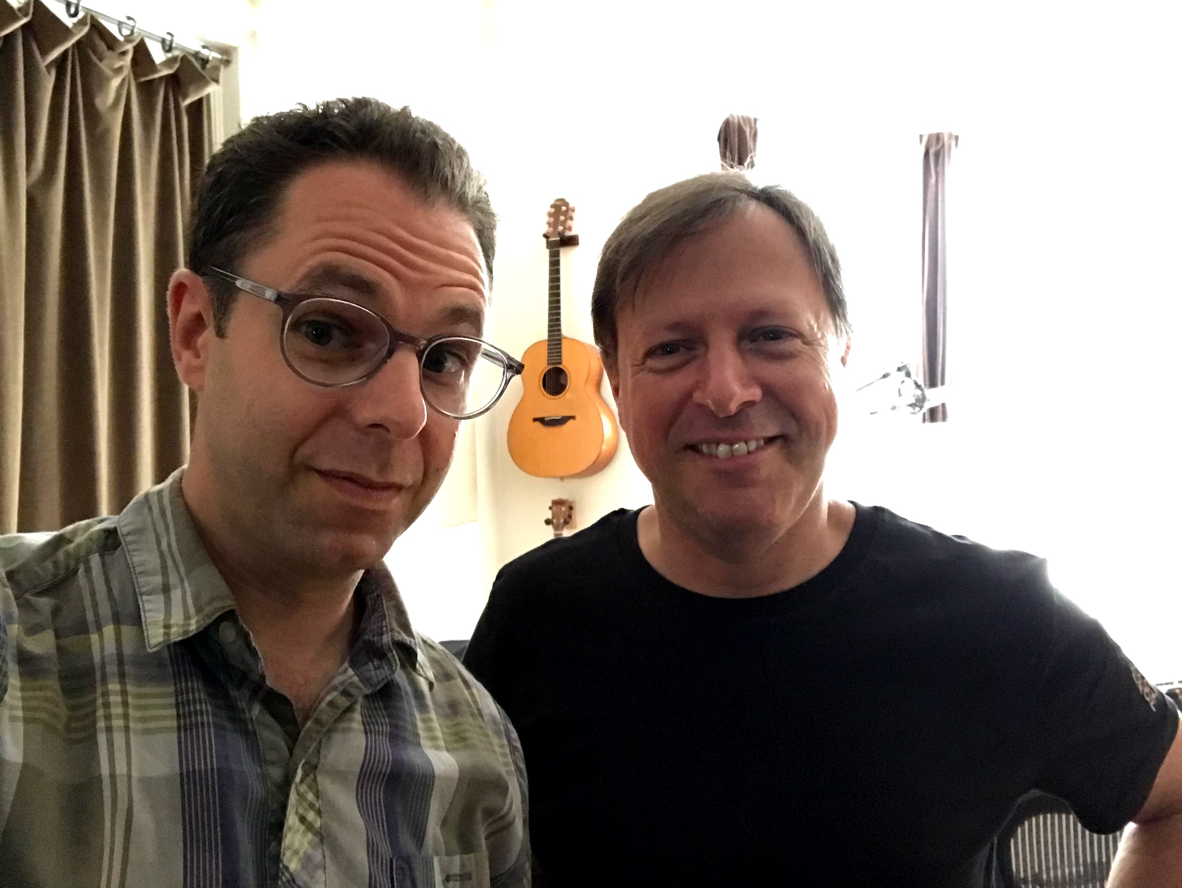 With Chris Potter, Brooklyn, August 2019