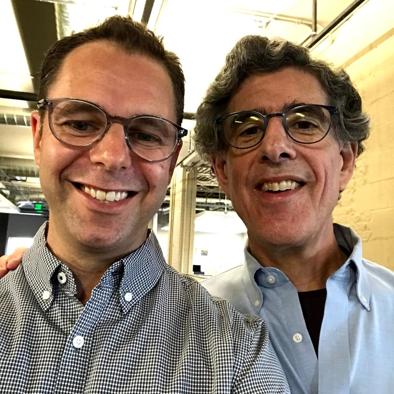 With RIchard Davidson, Madison, August 2019