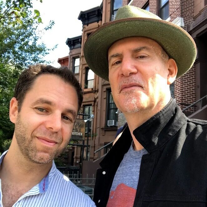 With Peter Himmelman, Brooklyn, September 2019