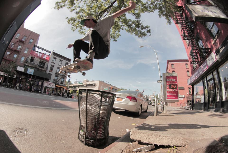 This ollie isn't in  BEV , but the guy doing it (Brett Dalzell) sure is. 2014.