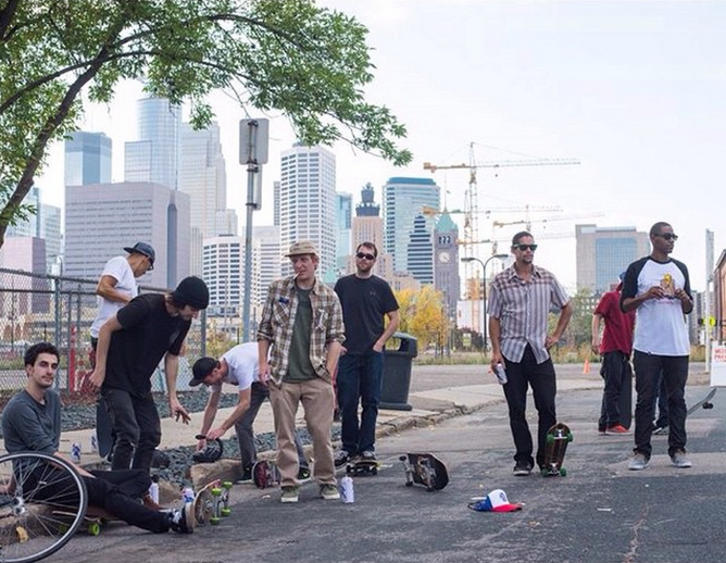 The Crew. Photo:  Dan Huseby