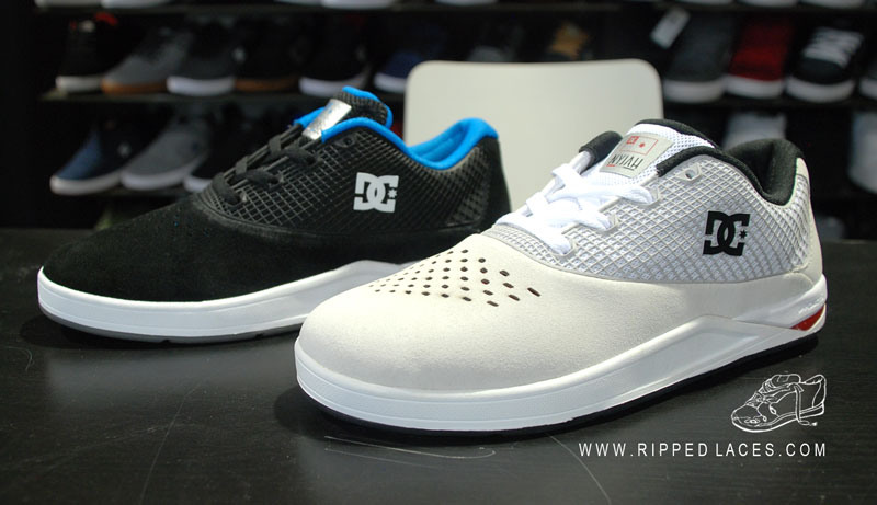 Nyjah Huston's 2015 pro model from DC features the seamless construction popularized by Savier and looks a hell of a lot like something Savier would have made. Photo via  Ripped Laces .