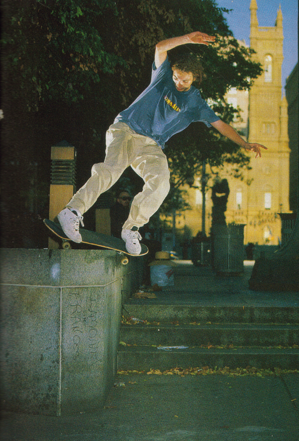 Raw. RIP to a pioneer, a dude who helped skating on the East Coast become what it is. Source:  Chrome Ball