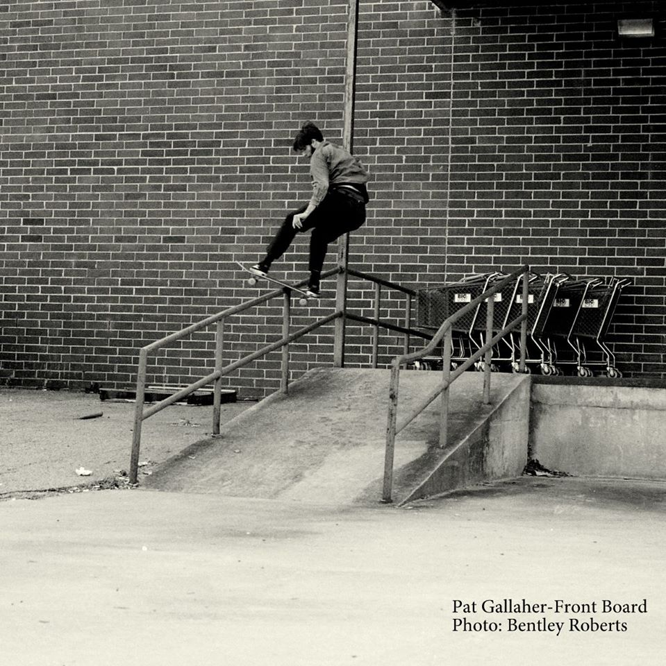 Pat with the Front Board, Bentley with the photo.