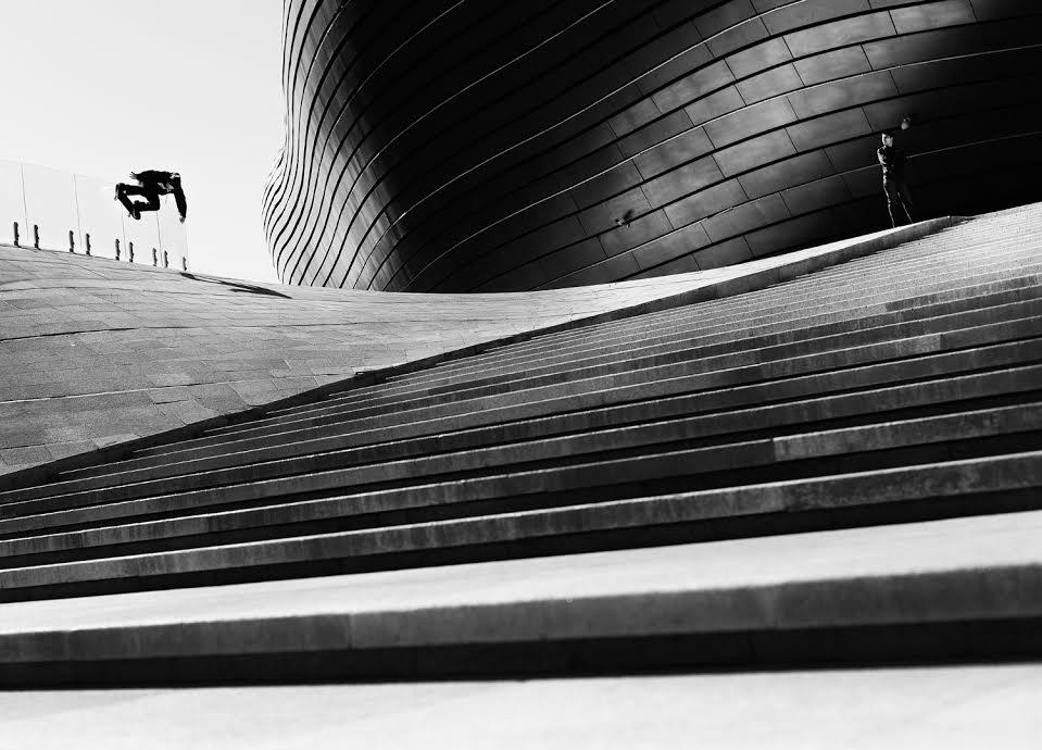 CHRISTIAN LOW ~ ORDOS, CHINA Trick:Wallride.Photo by Jake Darwen.