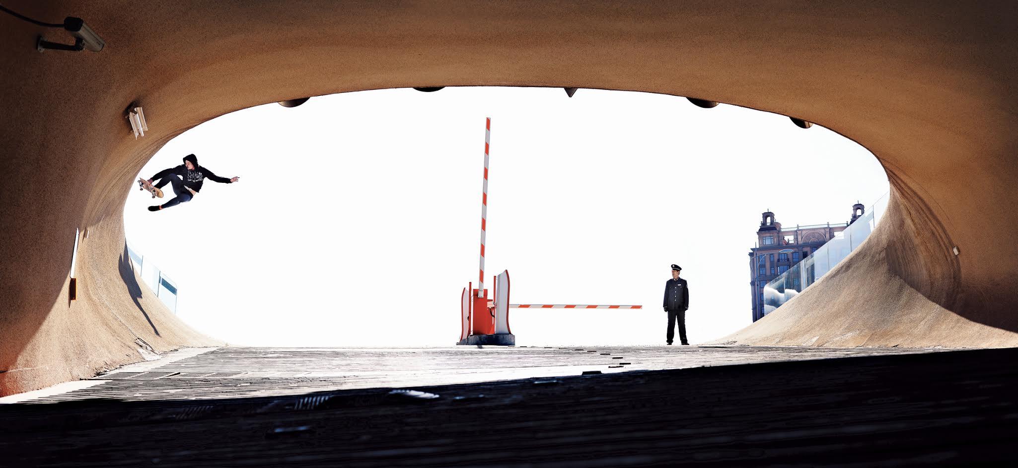 PAUL BATTLAY ~ ORDOS, CHINA Trick:Boneless.Photo by Jake Darwen.