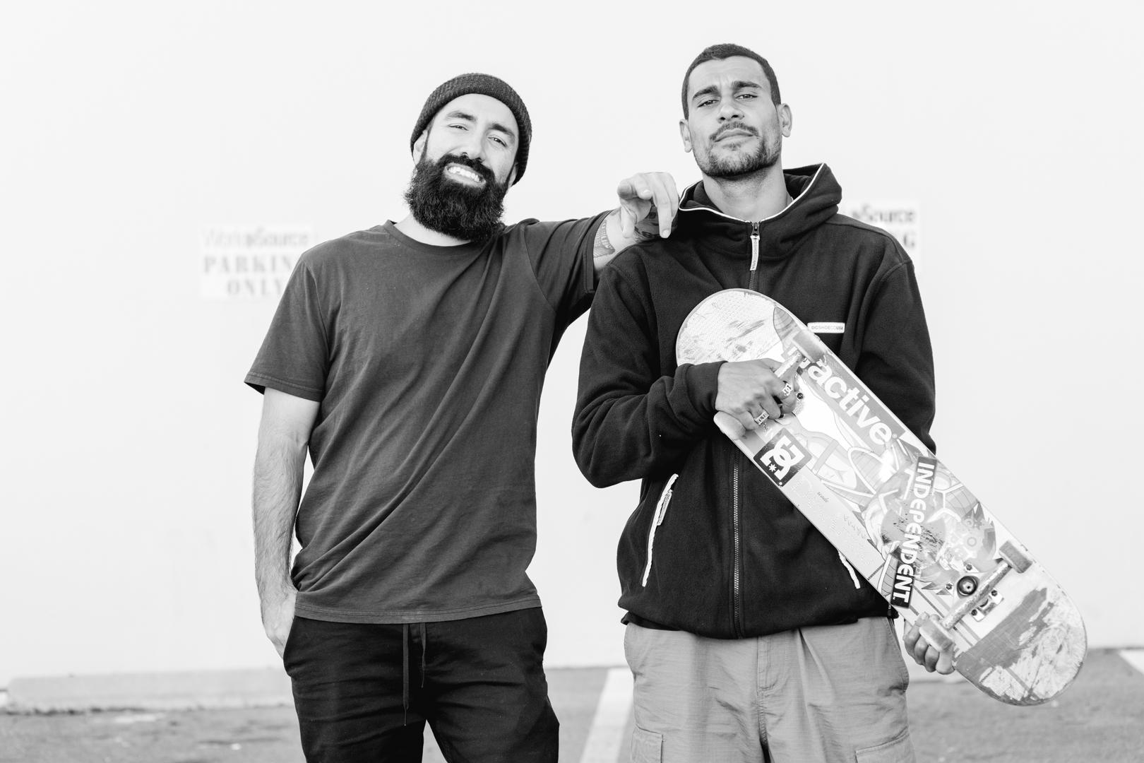 Felipe and Tiago. Photo:  Oliver Barton .