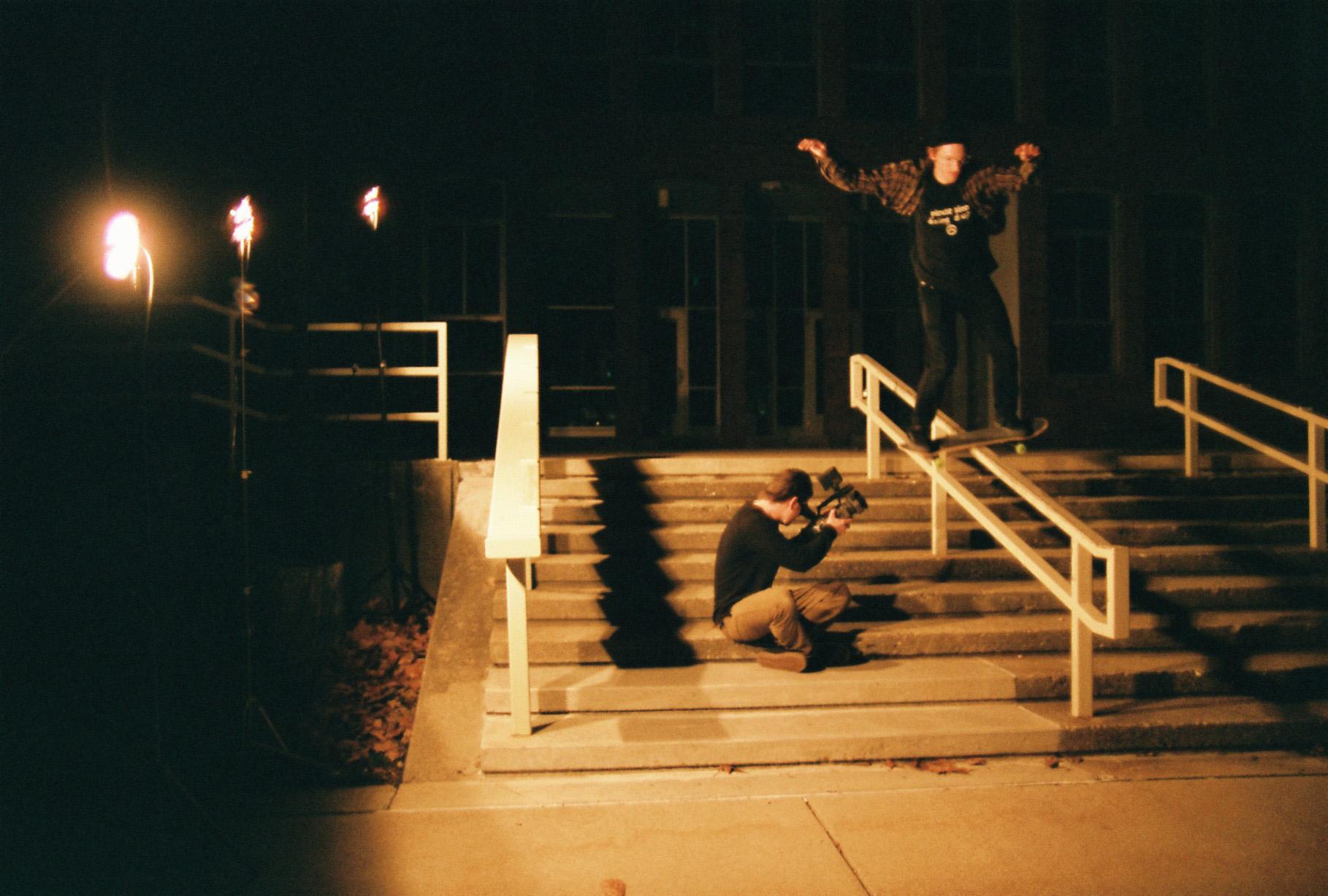 Brandon Bowes, boardslide. Columbus, IN.