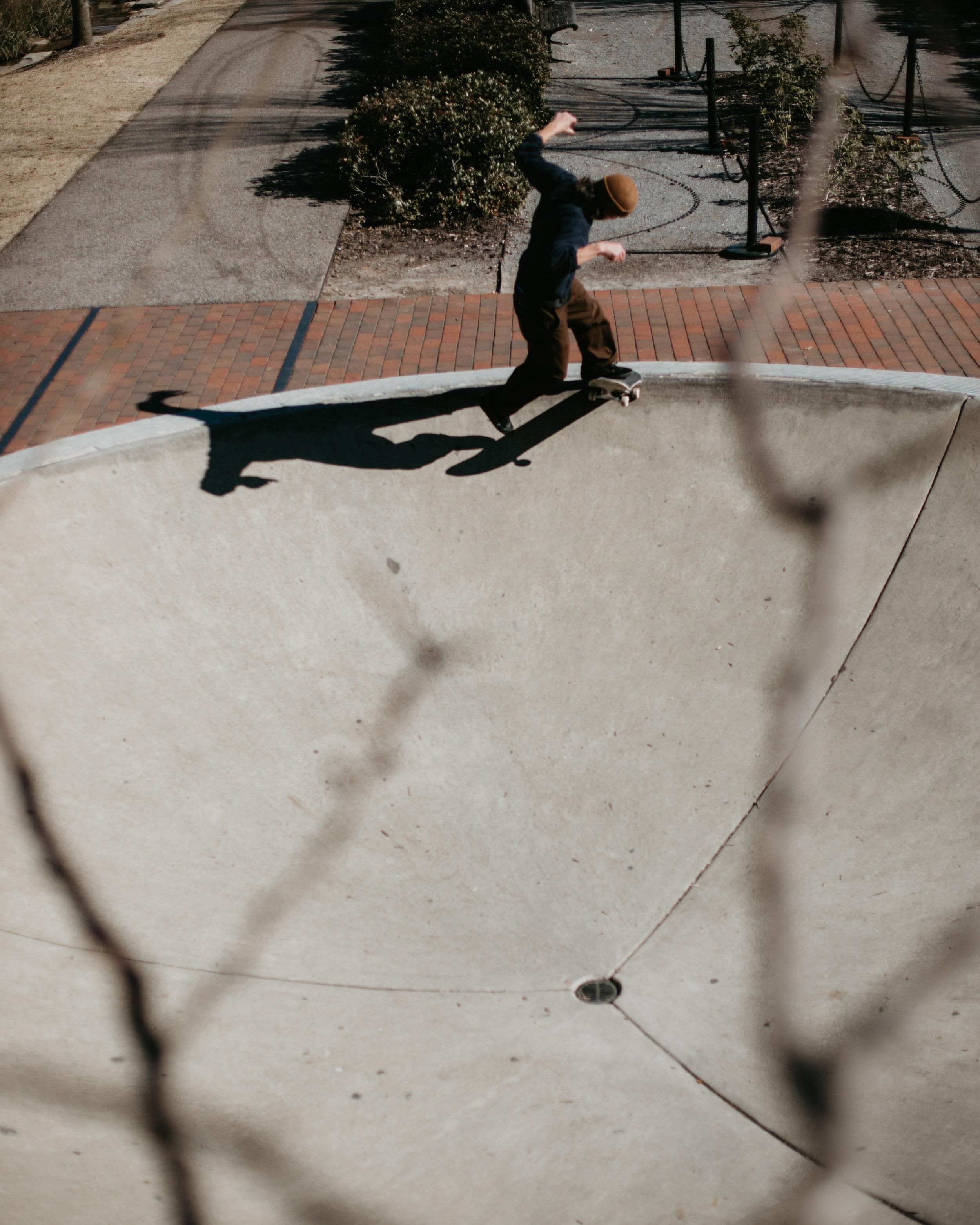 Matt Boeltel, no comply frontside tailslide. Birmingham, AL.