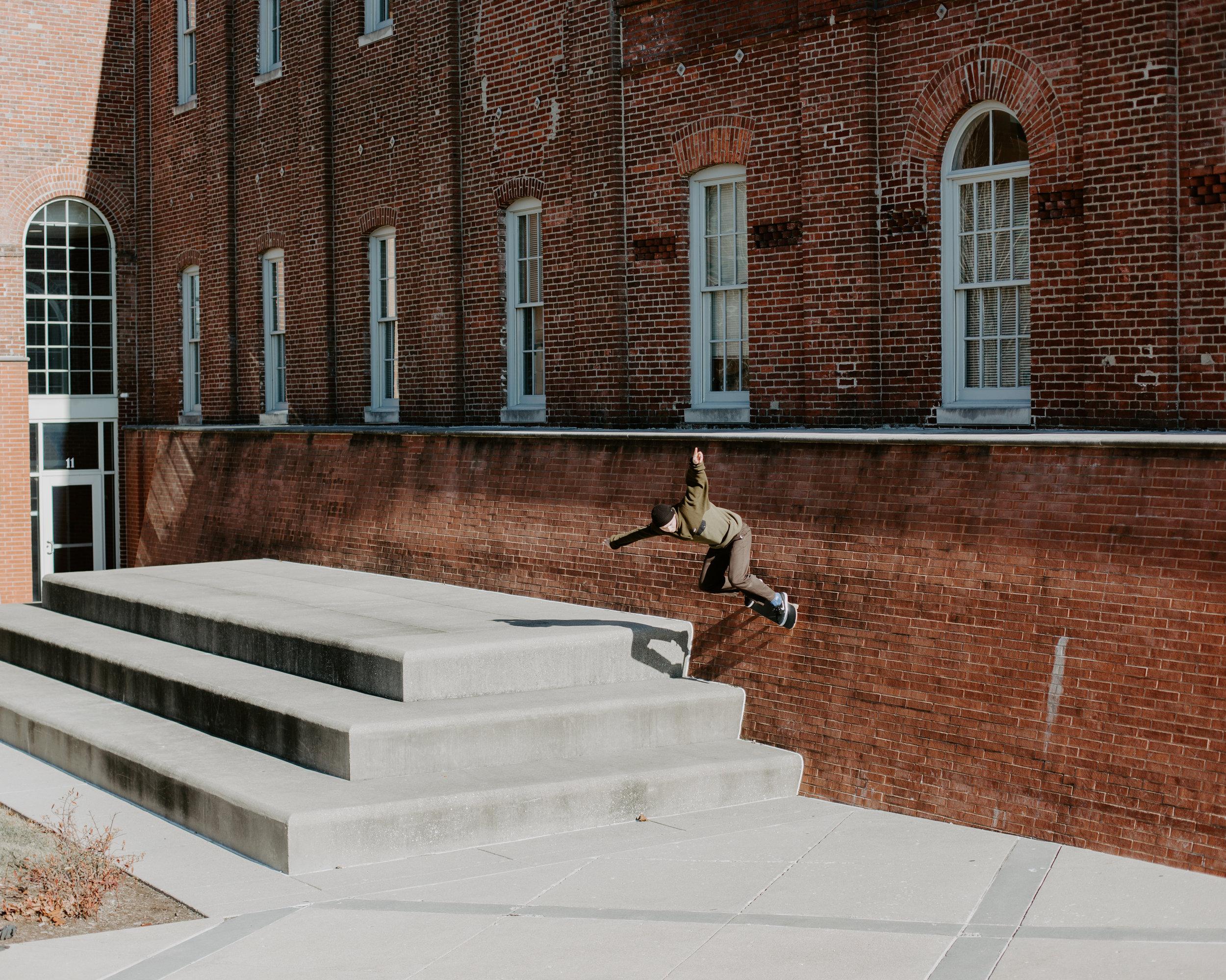 Ben Narloch, backside wallride. Indianapolis, IN.