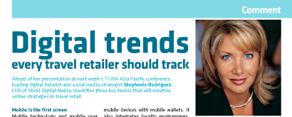 This article is a reprint of Stephenie Rodriguez's article on Digital Trends as it appeared in The Moodie Report EZine