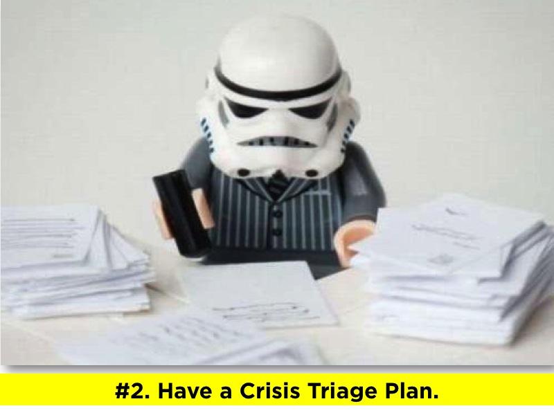 Crisis Triage Plan
