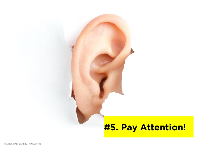 Pay attention to social media