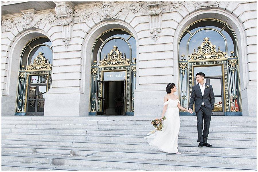 blueberryphotography.com | Bay Area Wedding & Lifestyle Photography | City Hall Wedding Photography