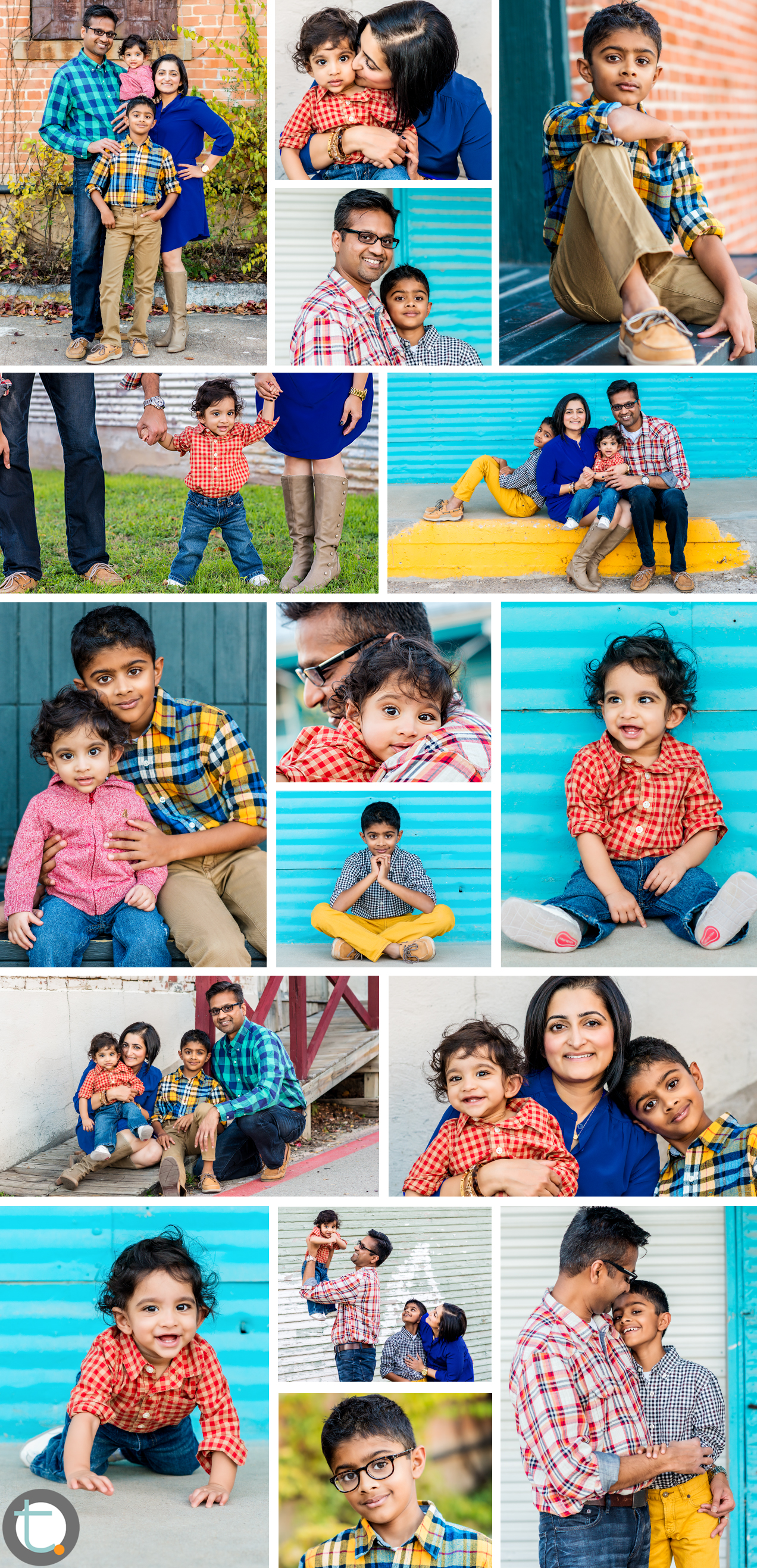 Family_portrait_downtown_mckinney_texas_plaid_bold_color_quartet_baby_boy.jpg