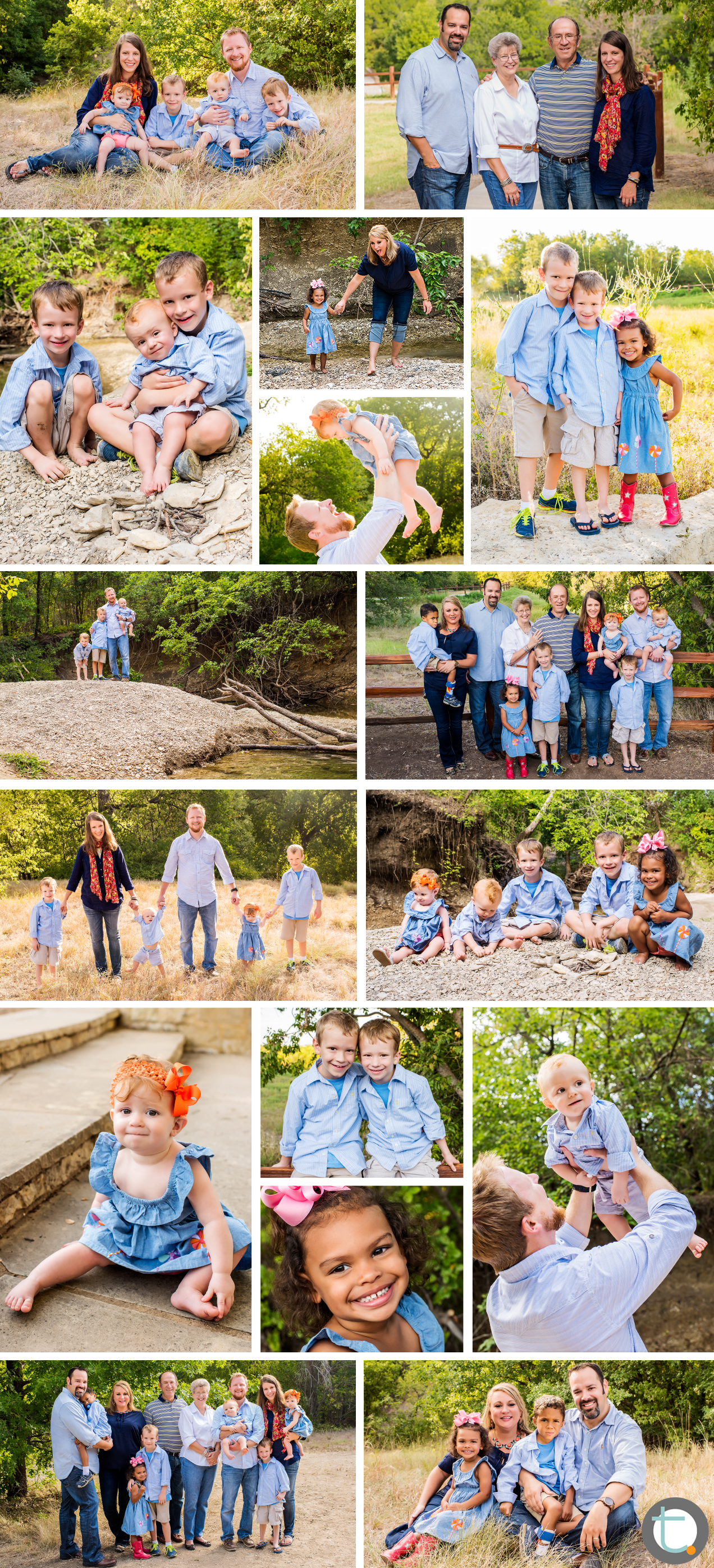 family_largegroup_extended_arborhillsnaturepreserve_cousins_twins_siblings_grandparents_tracyallynphotography