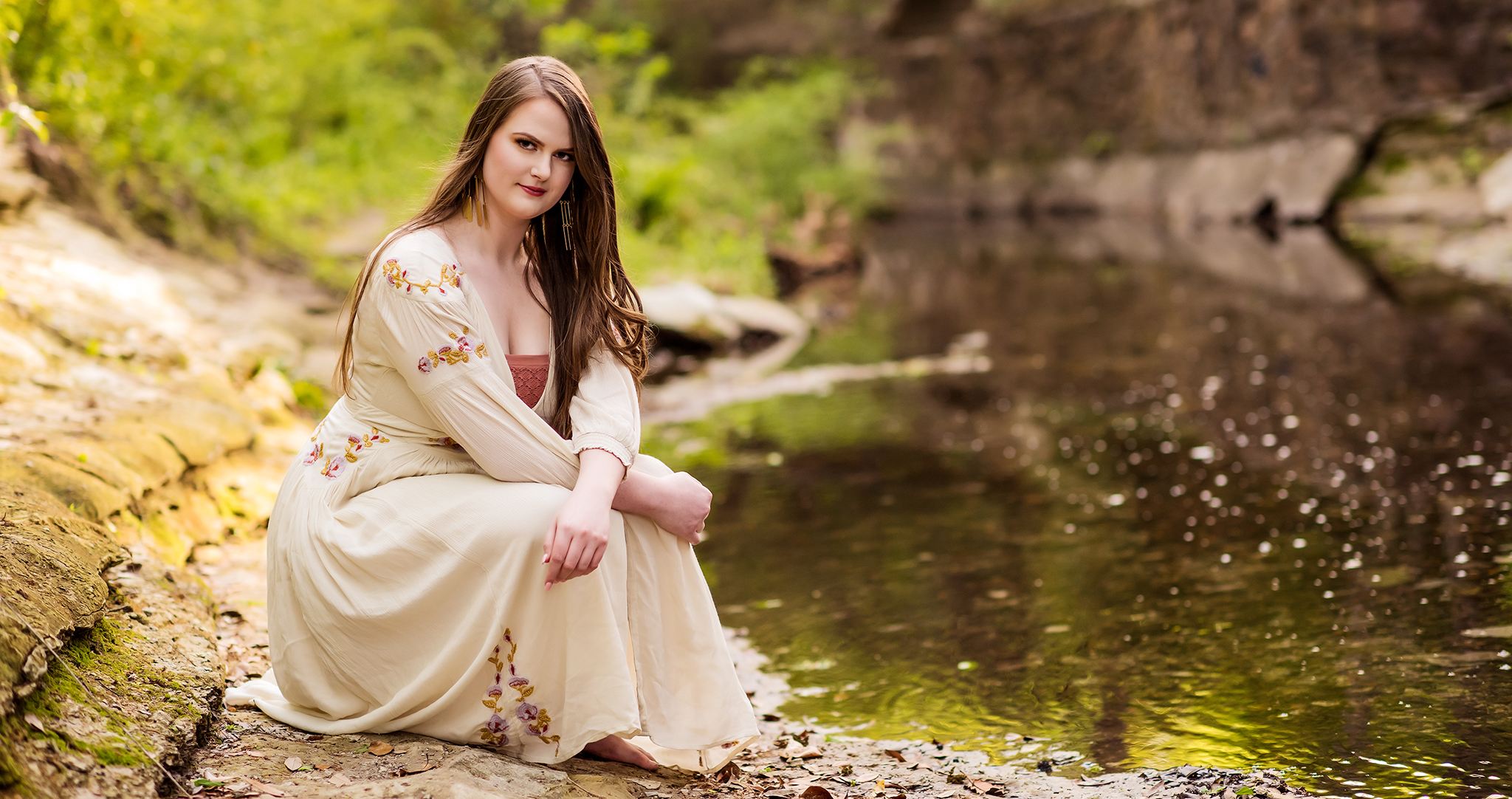 Maggie2018SeniorHighlandParkTurtleCreek