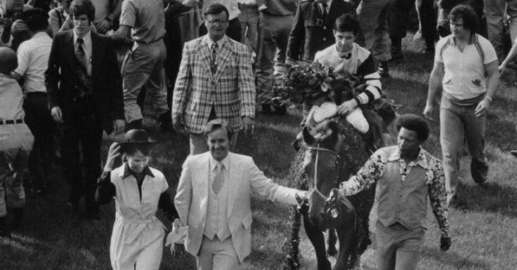 Kentucky Derby winner circa 1970. Image via  Pinterest .
