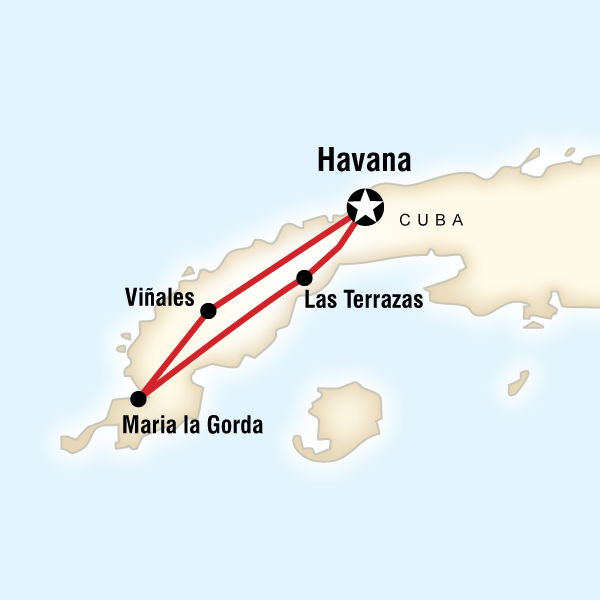 Havana to Havana - 8 Days - Starting at $1299