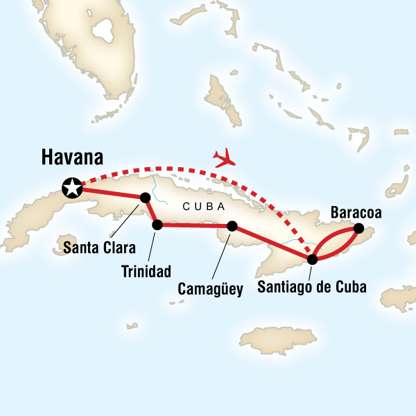 Havana to Havana - 15 Days - Starting at $2499