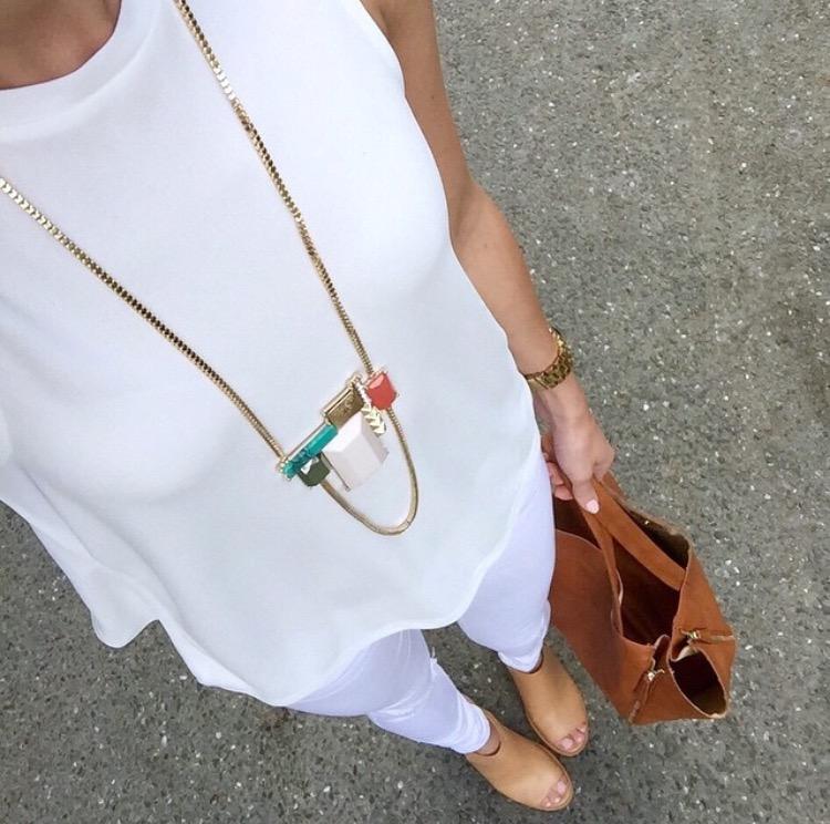 Jewel Be Mine studded deco necklace , c/o