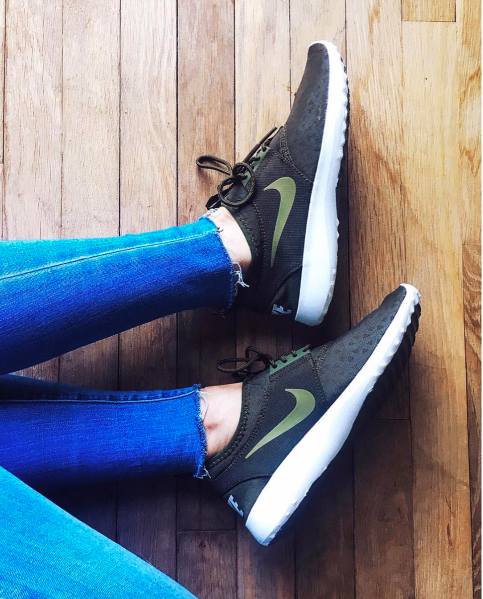 Nike Juvenate Sneakers Olive.png