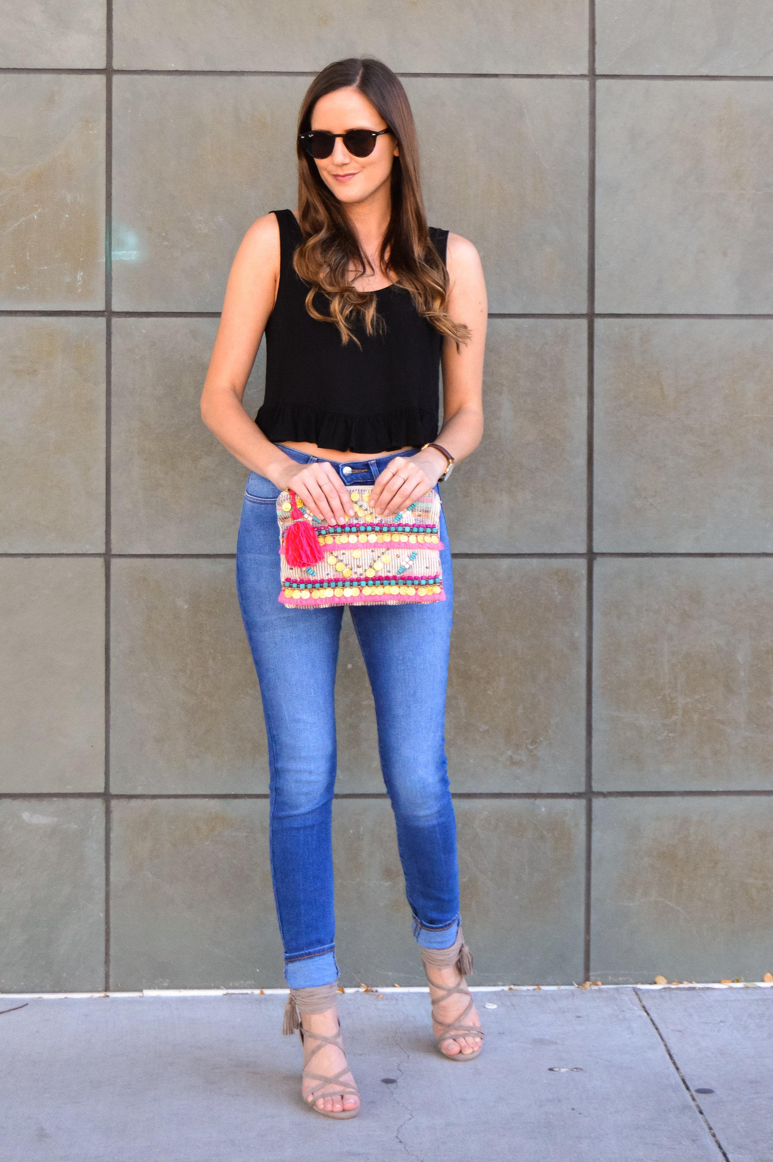 Wrangler High Waisted Skinny Jeans