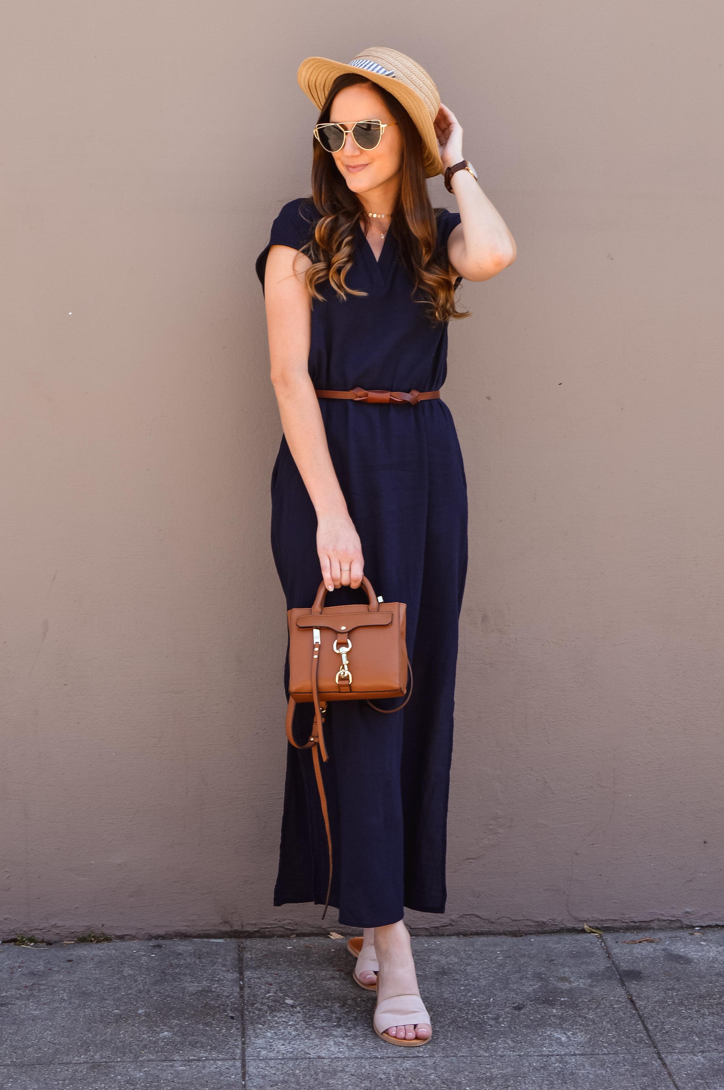 Gauzey maxi dress for summer