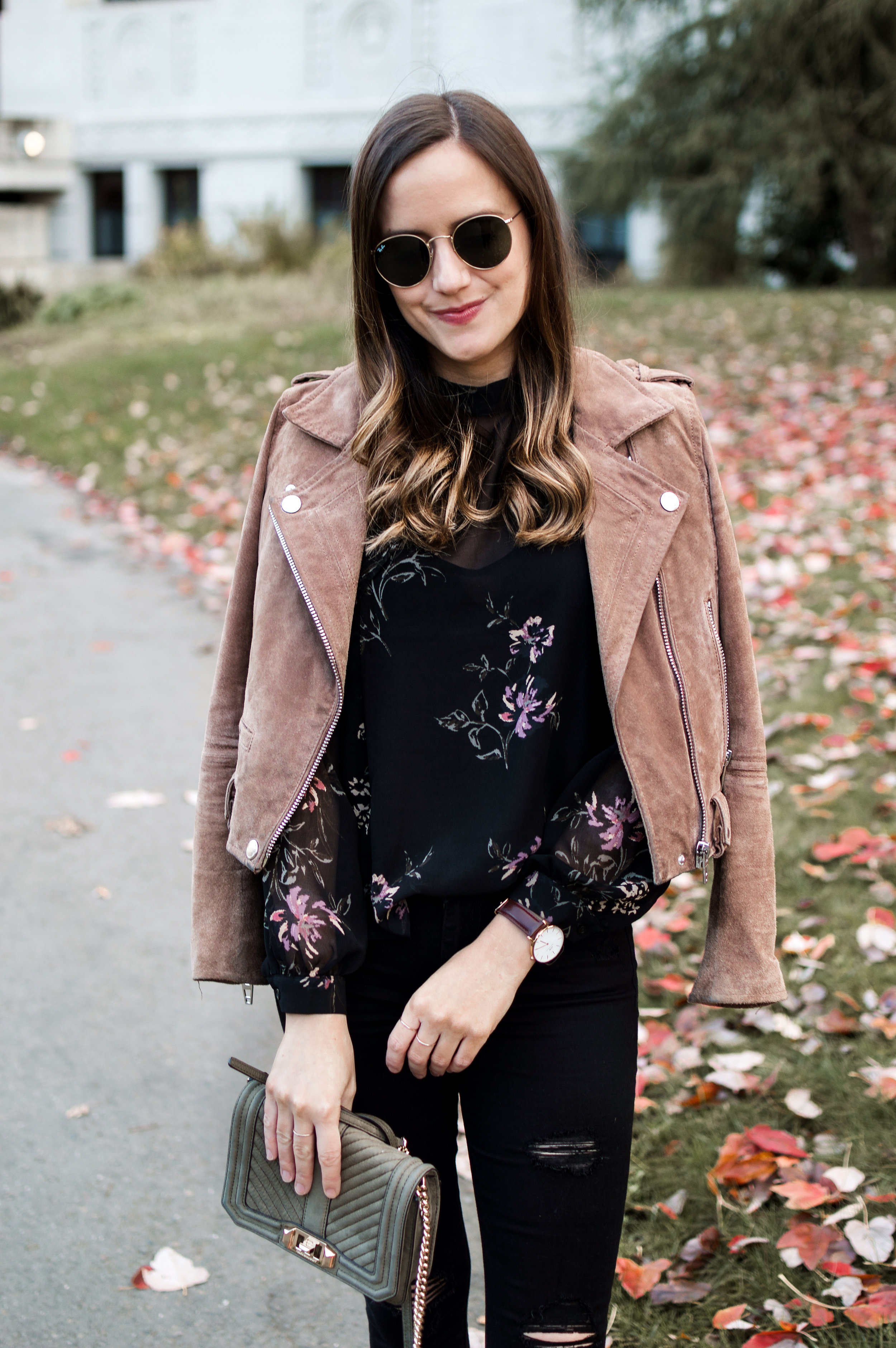 Date Night Floral Top