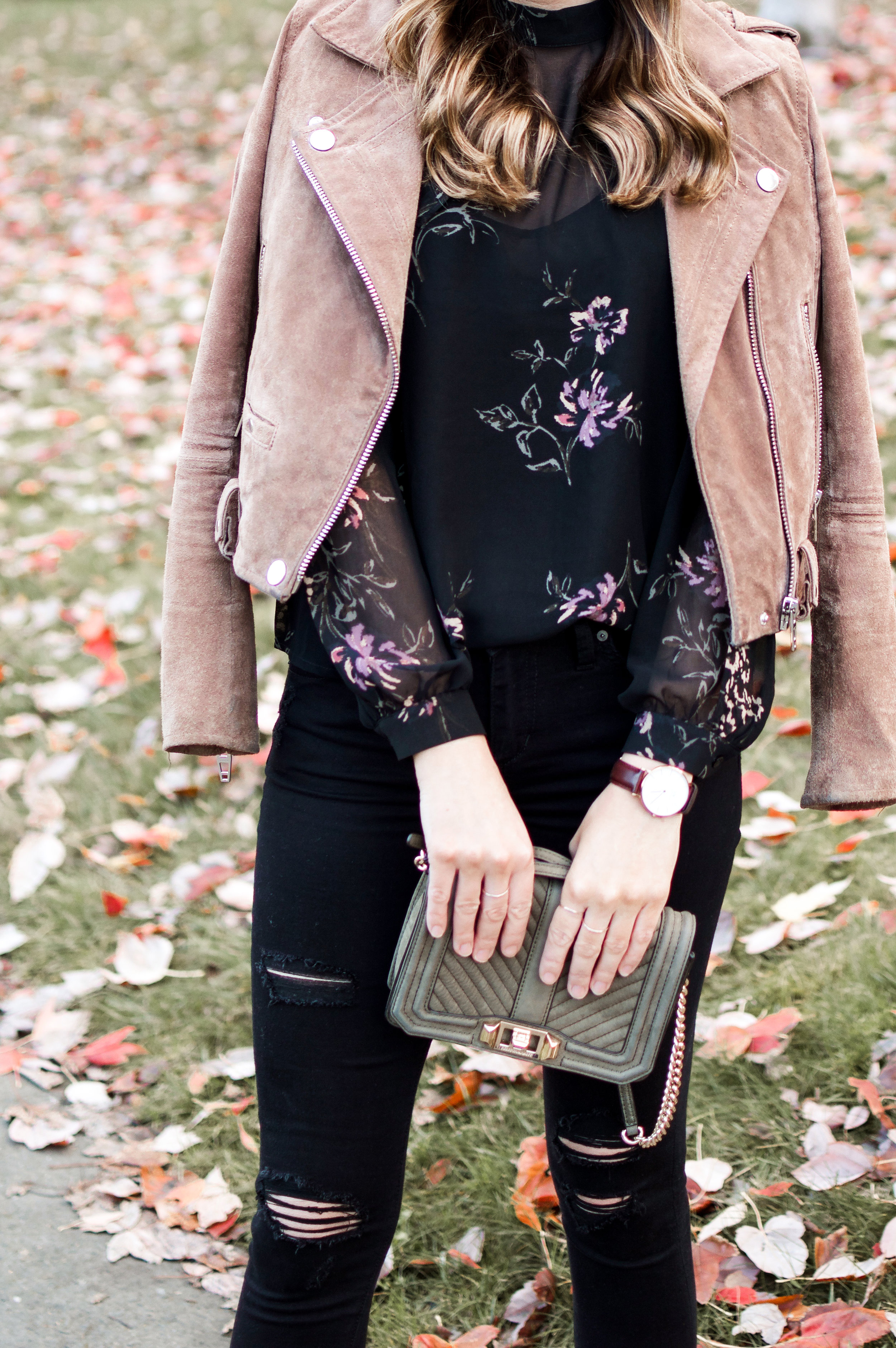 floral top for date night