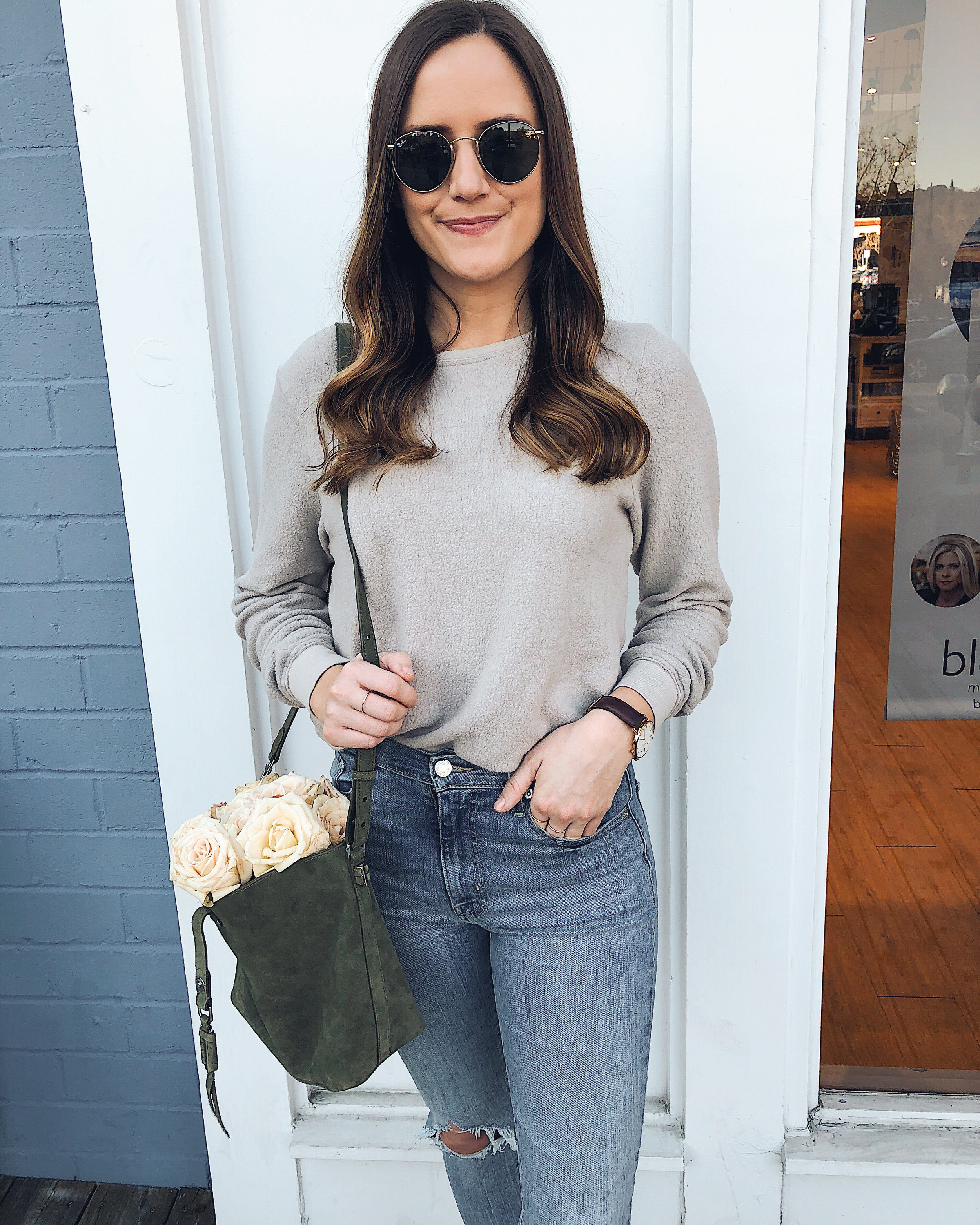 comfy spring style
