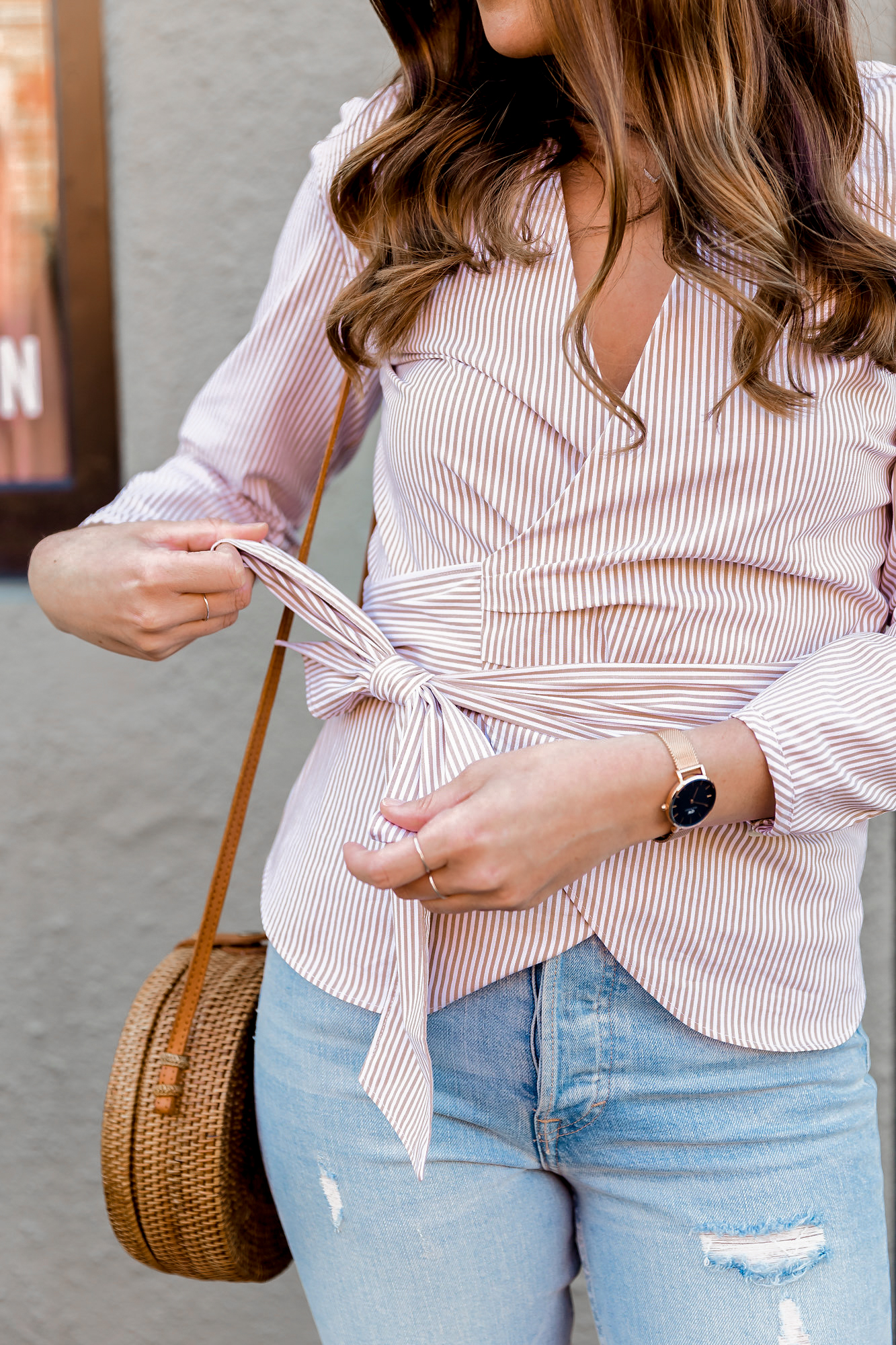 wrap tops for spring